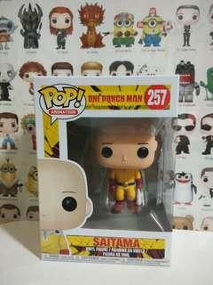 🚚 Funko Pop Saitama Vinyl Figure Collectible Toy Gift Movie Comic Super Hero Animation One Punch Man