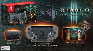 Wanted to Buy New/ Preowned Diablo 3 Nintendo Switch Console.