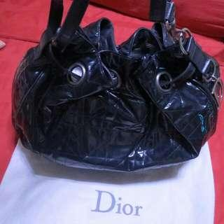 Authentic pre-owned Christian Dior Large Cannage Stitched Hobo