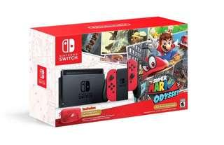 Wanted to Buy New/ Preowned Mario Odyssey Nintendo Switch Console.