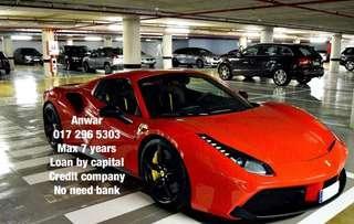 Ferrari 488GTB for credit loan