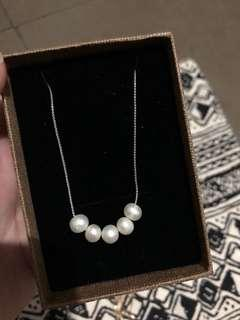 925 pearl necklace