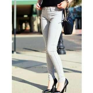 Jeans legging Grey pastel uniqlo
