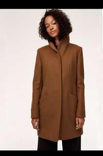 Wilfred cocoon wool coat size M