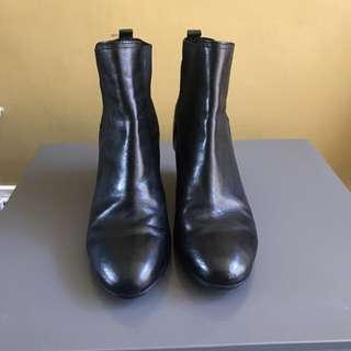 Geox Wedge Boots, Size 39