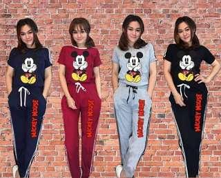 Mickey Terno Set Shirt & Pants