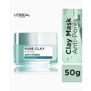 L'OREAL PURE CLAY MASK PORE REFINING