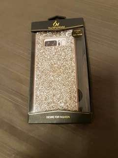 Crystal phone casing cover for Samsung Note 8 / Brand new