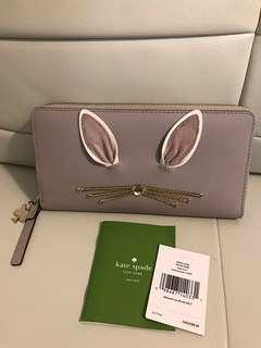 Authentic Kate Spade Rabbit Neda Wallet