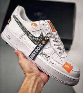 "Air Force 1 ""Just Do It"" Sneakers"