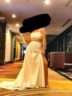 White Long Gown (for rent)