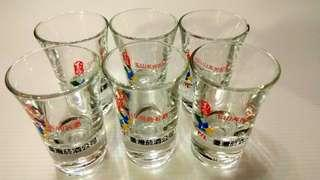 台灣煙酒公賣局小酒杯1組6入