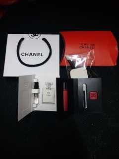 包郵 Chanel 香水化妝set
