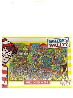 聖誕禮物單品 Where's Wally Puzzle /Wild Wild West /併圖砌圖(1000 Pieces)