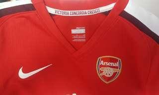 Arsenal Nike dry fit sports shirt