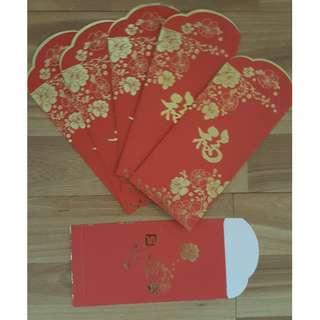 🚚 Singapore pools, CNY red packet envelope (Ang Pao, Ang Bao, Angpao, Hongbao)