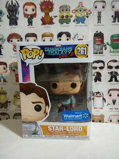 🚚 Funko Pop Star-Lord Walmart Exclusive Vinyl Figure Collectible Toy Gift Movie Comic Marvel Guardians Of The Galaxy 2