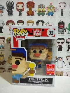 🚚 Funko Pop Fix It Felix 8 Bit SCE Exclusive Vinyl Figure Collectible Toy Gift Movie Wreck It Ralph Disney Cartoon