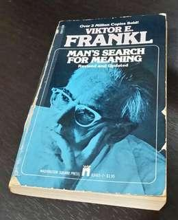 Viktor Frankl: Man's Search for Meaning