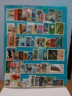 Worldwide Stamps 60pcs Set12