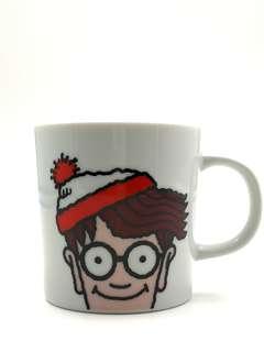 聖誕禮物單品/日本制/Where's wally 30周年紀念版陶瓷水杯