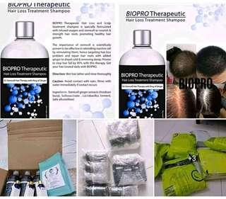 Hairgrowth formula shampoo