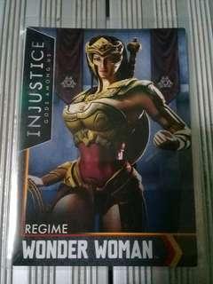 Wonder Woman Regime Injustice Card