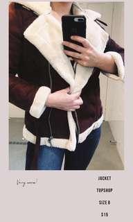 Top shop jacket size 8