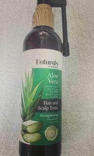Naturals aloe vera hair tonic