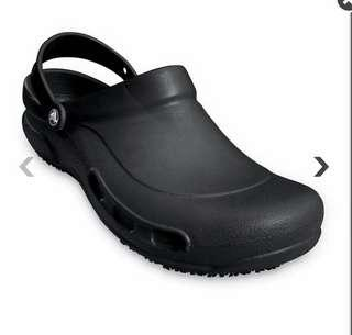 Brand new crocs bistro clogs roomy fit size 7