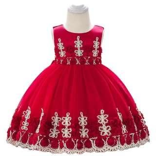 18a87b9281 Preorder - Baby Dinner Gown Party Dresses - LQA L1837XZ