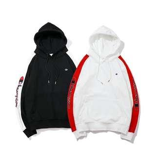 Champion Athletic Embroidered Emblazon Hoodie Pullover