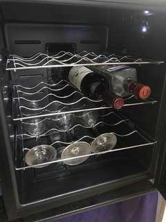 Tiny cool電子恆溫儲酒櫃+法國波爾多紅酒及gin酒各1支