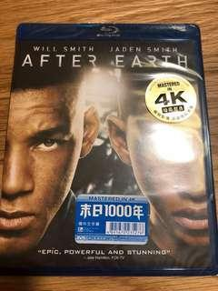 Blu Ray After Earth
