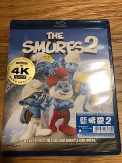 The Smurfs 2 blu ray 藍精靈2