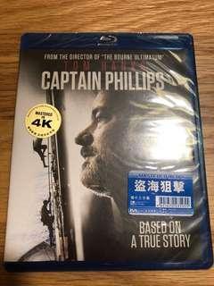 Blu Ray Captain philips 盜海狙擊