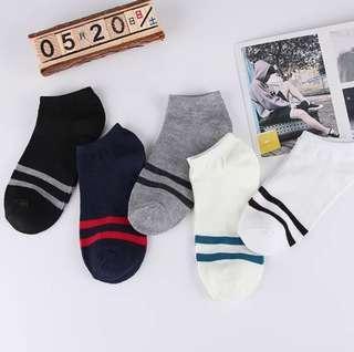 (24pairs/$160;48pairs/$280) 船襪運動襪男女適宜 (homethre) (sport socks)