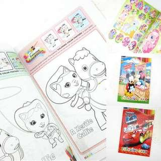 🚚 Colouring book with Sticker A5 - Goodie Bag
