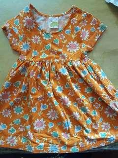 Jim Thompson Orange Dress