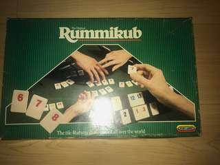 The original rummikub game