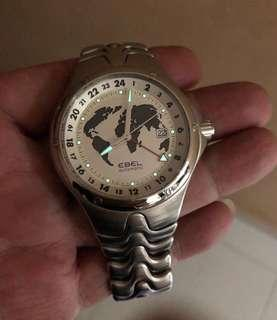 Discontinued Ebel Sportswave GMT Automatic Watch For Gents