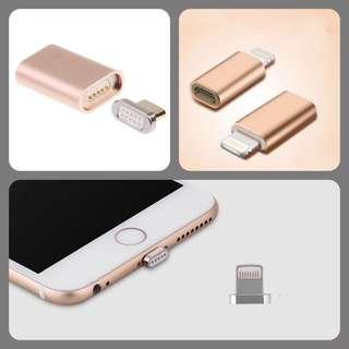 Iphone lightning micro USB adapter MagSafe magnetic