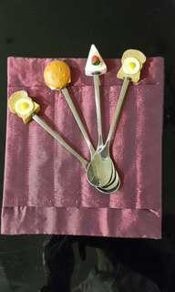 🚚 小小造型湯匙~全新