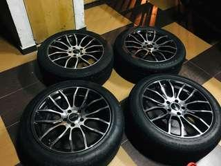 Sportrim with tyre 235/50/18