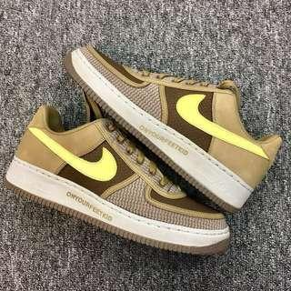 """Nike AIR FORCE 1 INSIDEOUT PRIORITY """"UNDEFEATED"""" UNDEFEATED US9.5"""