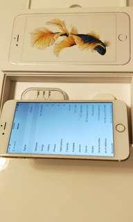 Perfect used 6s plus 64gb gold