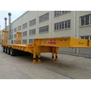 Tri-Axle Lowbed Semi-Trailer