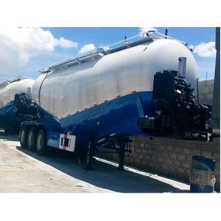 Tri-Axle Bulk Cement 45m3 Tank Volume