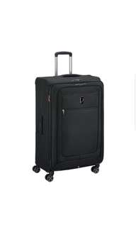 """Delsey Paris Luggage Hyperglide 29"""" 29 Inch large Expandable Spinner Suitcase Luggage Upright"""