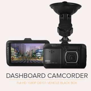 P8 Dash Cam Camecho Car Driving Recorder 1080P Full HD 3 Inch Black Box Video Recorder with Loop Recording, G-Sensor, Parking Mode, WDR and Motion Detection for Car